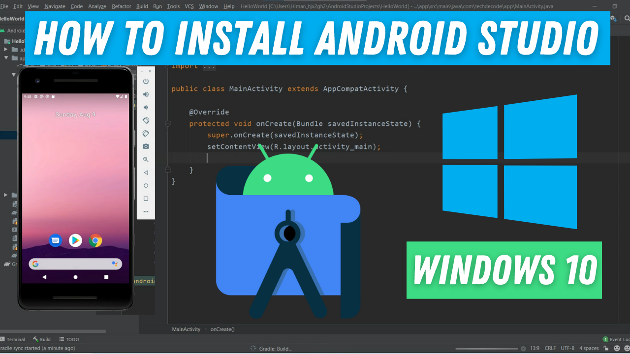 How to Install Android studio on windows 8 - TechDecode Tutorials